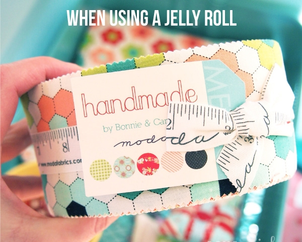 Accurate Strip Sets With A Jelly Roll