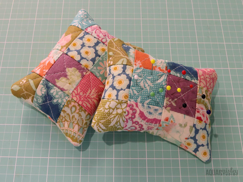 Tilda Harvest Fabric Pincushions