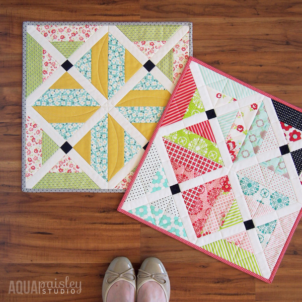 Cherry Tree Lane Mini Quilts