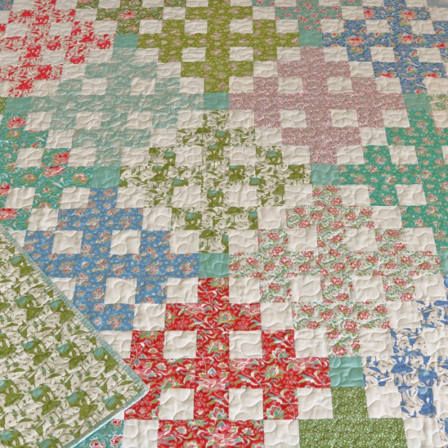 Gypsy Lane Quilt Pattern by Aqua Paisley Studio