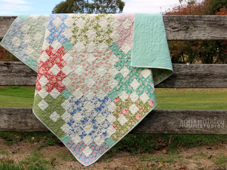 Gypsy Lane Quilt Pattern by Aqua Paisley Studio