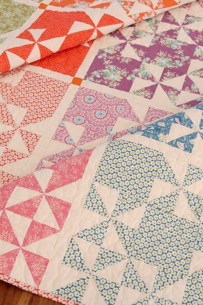 Aqua Paisley Studio: Harvest Market Quilt |Tilda Harvest Fabric