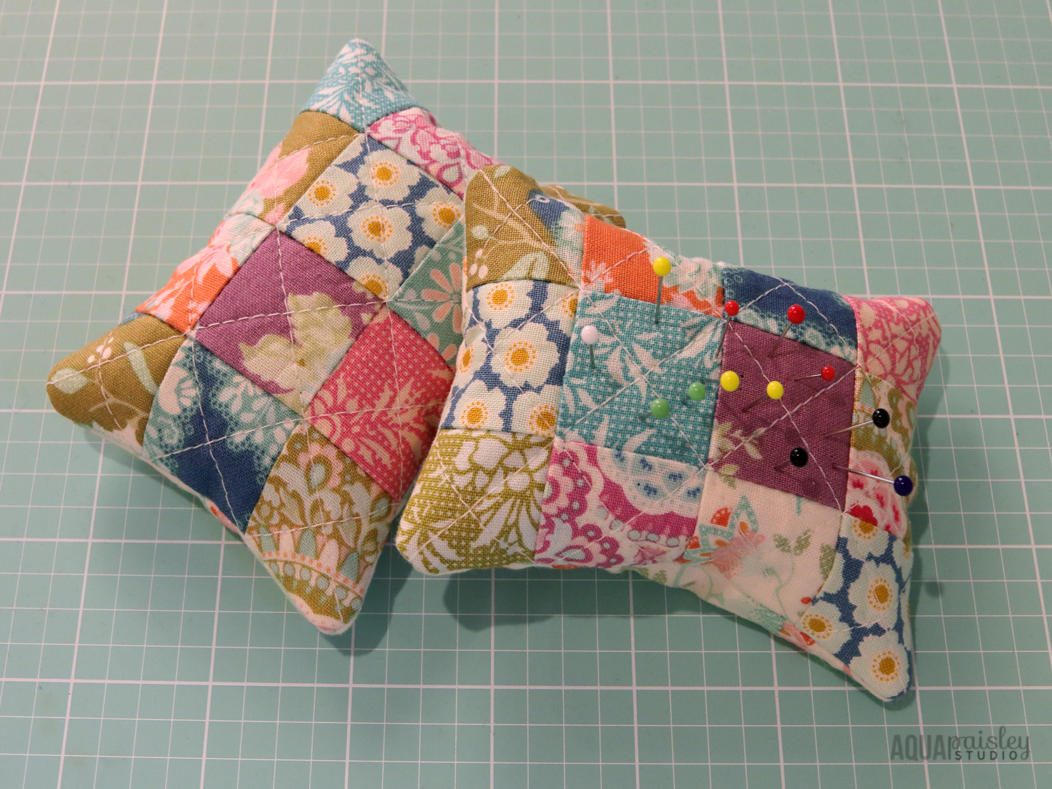 Tilda Harvest Fabric Pincushions