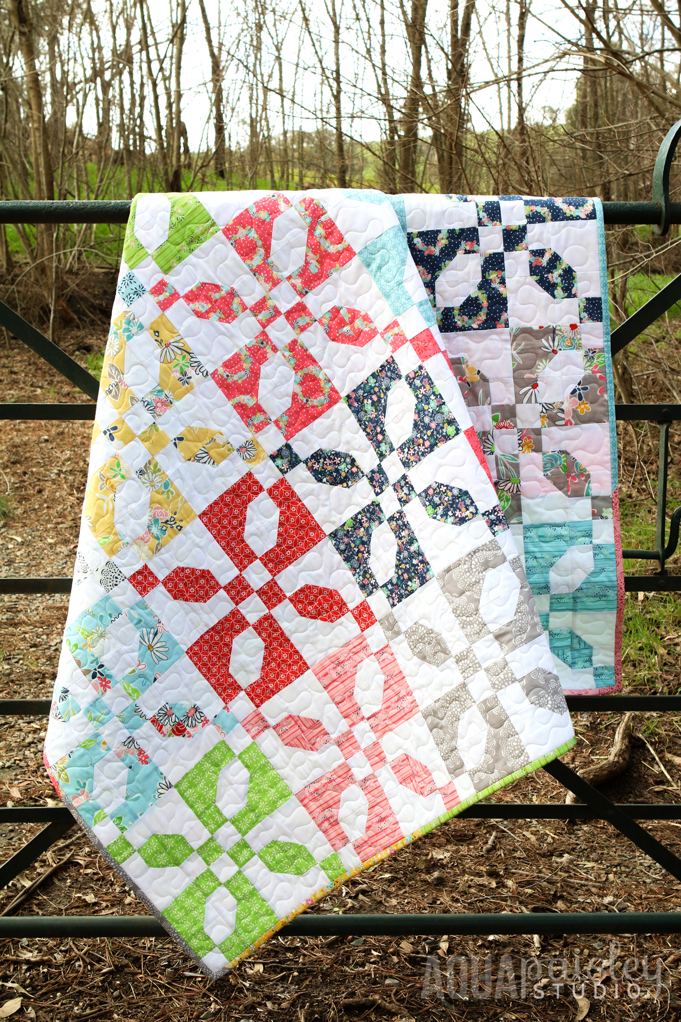 Quiet Moments Quilt by Aqua Paisley Studio
