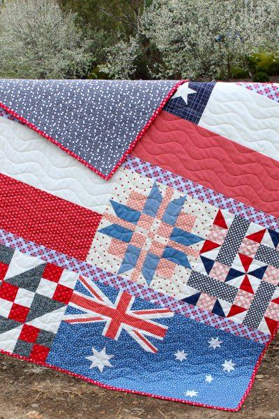 Pieces of Home Quilt   Aqua Paisley Studio