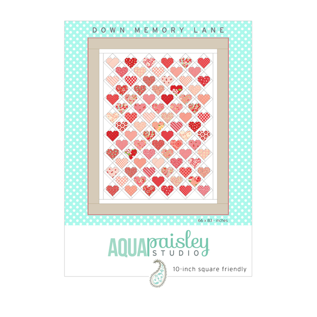 Down Memory Lane PDF Quilt Pattern by Aqua Paisley Studio