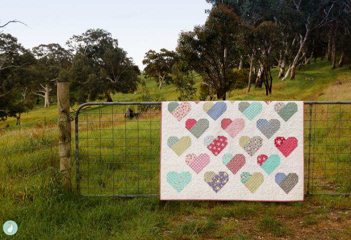 Down Memory Lane Best Loved Memories Quilt by Aqua Paisley Studio featuring La Conner Fabric by Jera Brandvig for Lecien