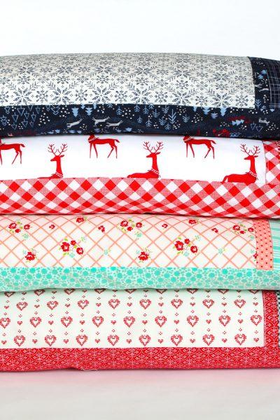 How to Sew an Envelope Pillowcase Tutorial - aquapaisleystudio.com