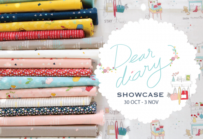Dear Diary Fabric Showcase