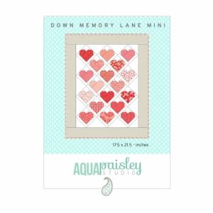 Aqua Paisley Studio