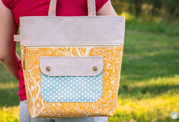 Tilda Lemon Tree Caravan Tote