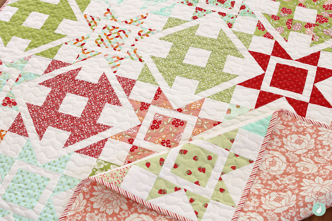 Dashing Quilt | Made by Aqua Paisley Studio | Pattern by Coriander Quilts