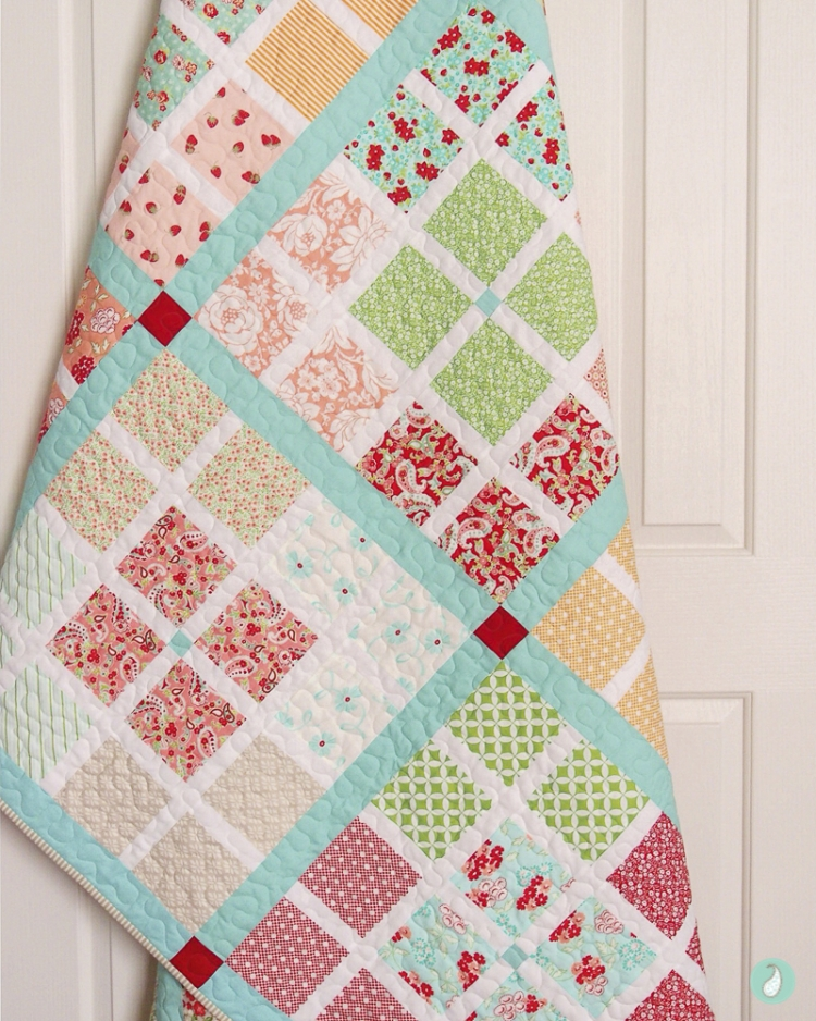 At The Crossroads Quilt | Aqua Paisley Studio