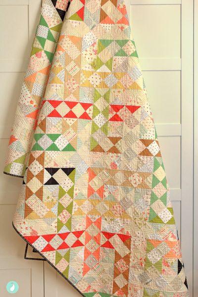 Step In Time Quilt by Aqua Paisley Studio