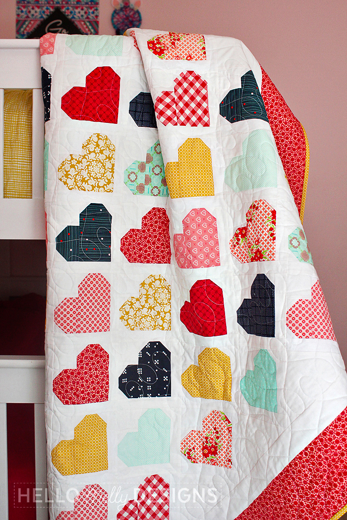 Down Memory Lane Quilt Pattern by Aqua Paisley Studio. Made by @hellomellydesigns