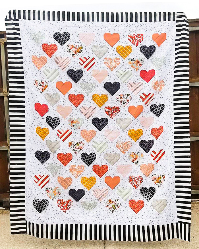 Down Memory Lane Quilt Pattern by Aqua Paisley Studio. Made by @happinessinthemaking