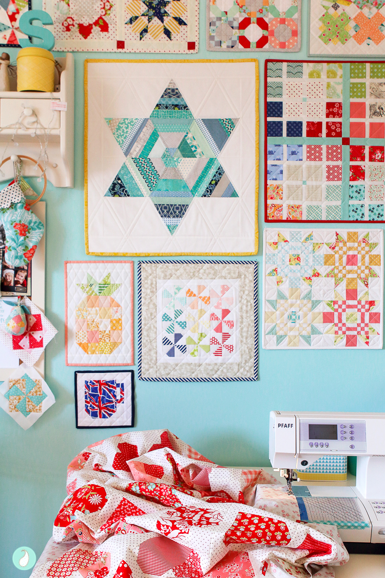 Aqua Paisley Studio | Down Memory Lane Quilt-Along
