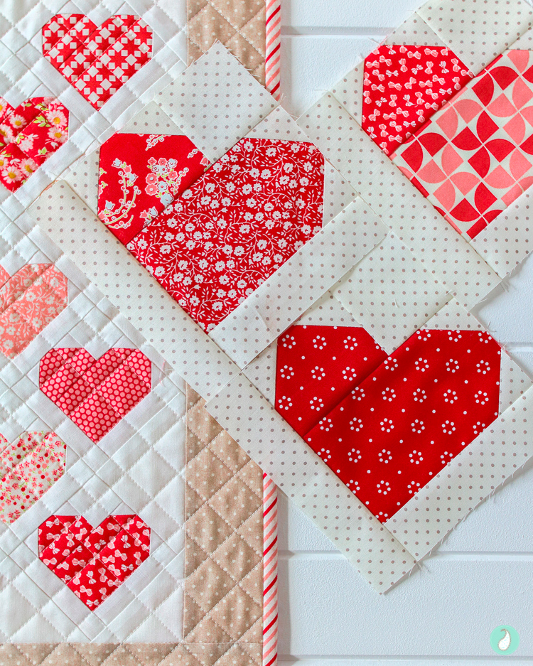 Down Memory Lane - a quilt pattern by Aqua Paisley Studio
