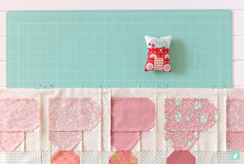 Down Memory Lane - a quilt pattern by Aqua Paisley Studio