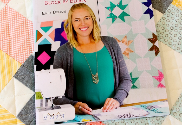 Modern Quilts Block by Block Blog Hop – Hopscotch Quilt