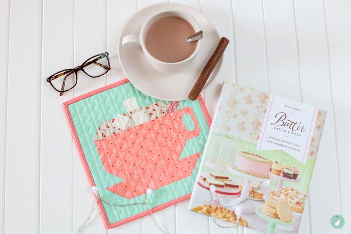 LPQ Gingerbread House SAL Mini Quilt | Aqua Paisley Studio