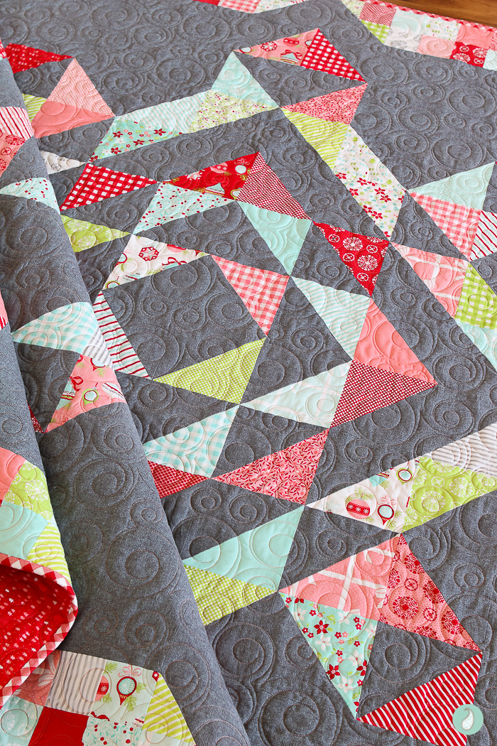 Wonderful Quilt | Aqua Paisley Studio