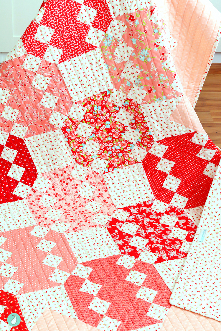 Hope Floats Quilt | Aqua Paisley Studio