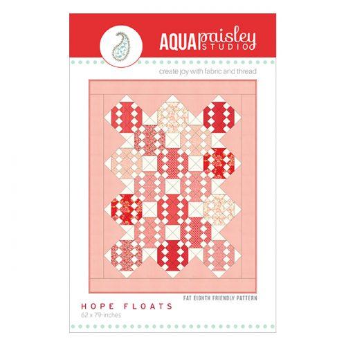 Hope Floats Quilt | Aqua Paisley Studio