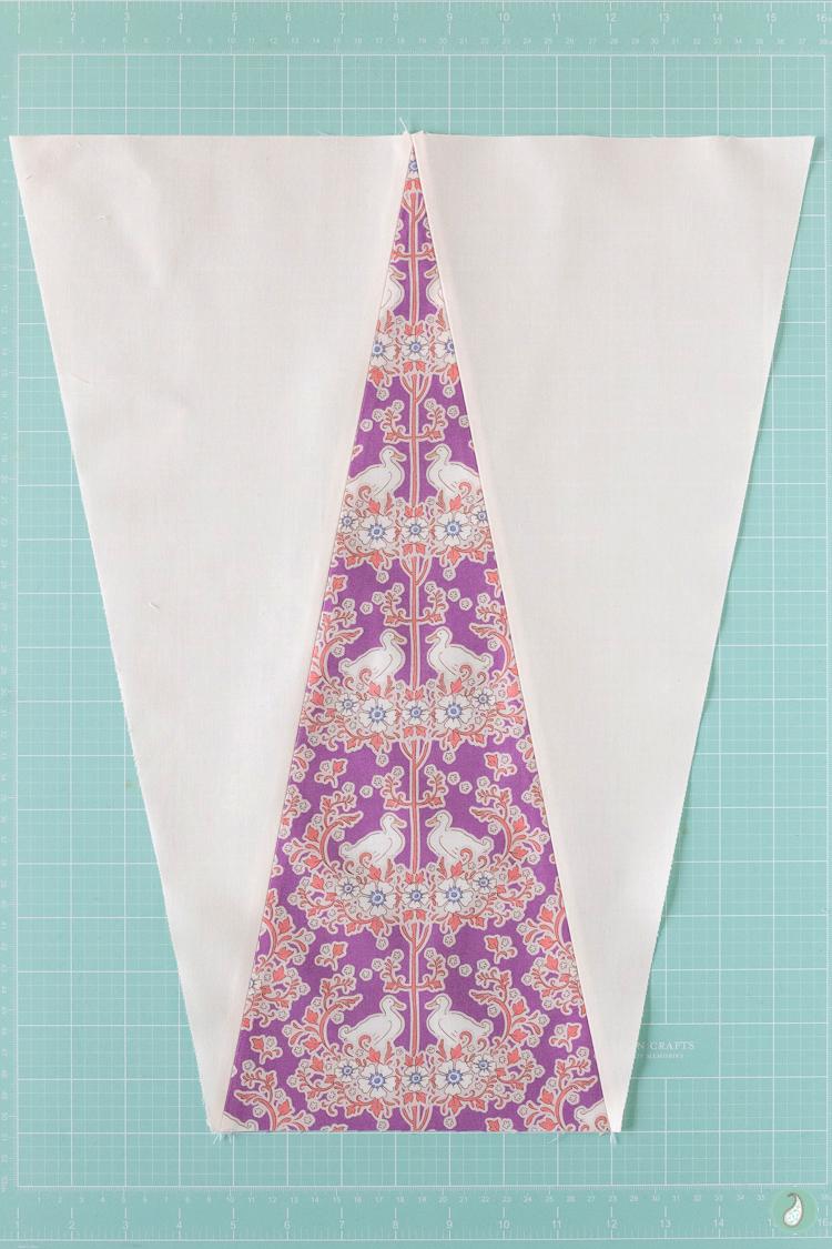 Triangle Quilt | Aqua Paisley Studio