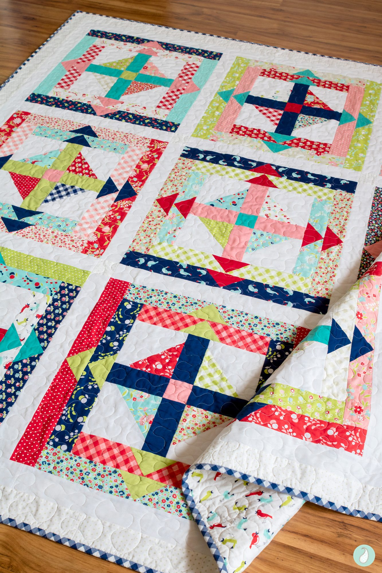 Inside Out Quilt | Aqua Paisley Studio
