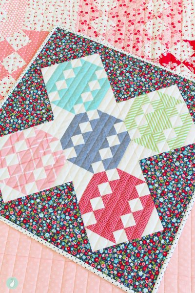 Hope Floats Mini Quilt | Aqua Paisley Studio