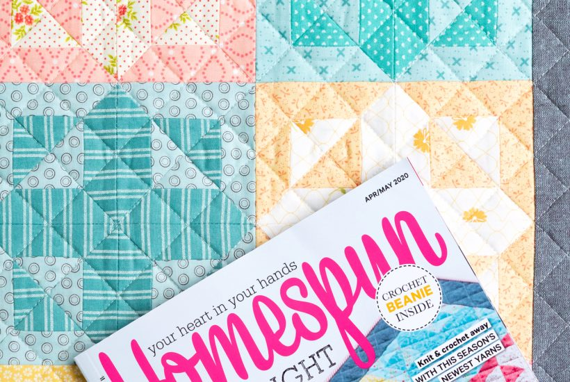 Shine Bright Mini Quilt | www.aquapaisleystudio.com